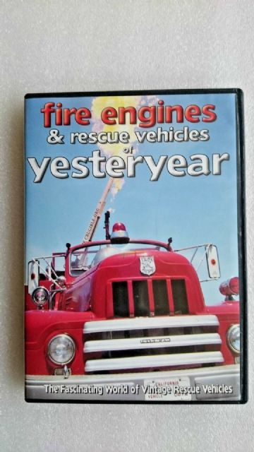Fire Engines & Rescue Vehicles of Yesteryear  DVD